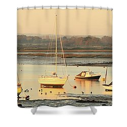 Ebbtide Emsworth Shower Curtain