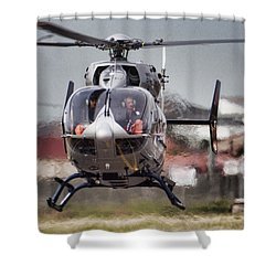 Ec145 Display Shower Curtain by Paul Job