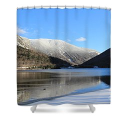 Echo Lake Franconia Notch Shower Curtain