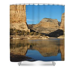 Echo Park In Dinosaur National Monument Shower Curtain
