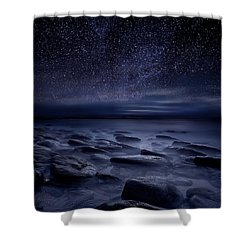 Echoes Of The Unknown Shower Curtain
