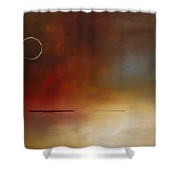 Eclipse Shower Curtain by Carmen Guedez