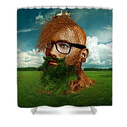 Eco Hipster Shower Curtain