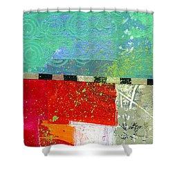 Edge 48 Shower Curtain by Jane Davies