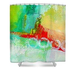 Edge 59 Shower Curtain by Jane Davies