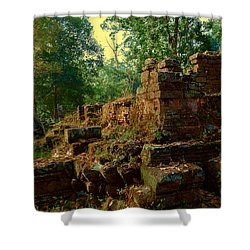 Edge Of Ruin Shower Curtain