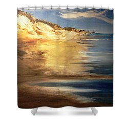 Edge Of The Country Shower Curtain by Joseph Gallant
