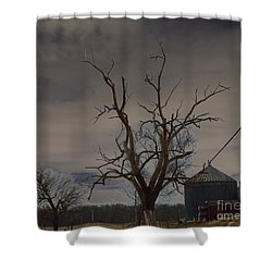 Edge Of The Storm Shower Curtain by Alys Caviness-Gober