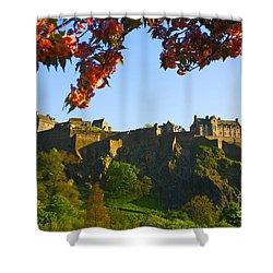 Edinburgh Castle  Shower Curtain by Craig B