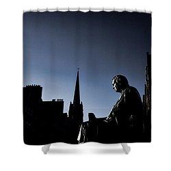 Shower Curtain featuring the photograph Edinburgh Royal Mile by Craig B