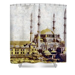 Edirne Turkey Old Town Shower Curtain