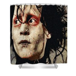 Edward Scissorhands  Shower Curtain