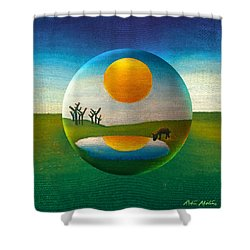Eeyorb  Shower Curtain