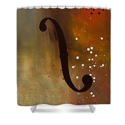 Efe Shower Curtain by Carmen Guedez