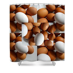 Eggland's Best Shower Curtain