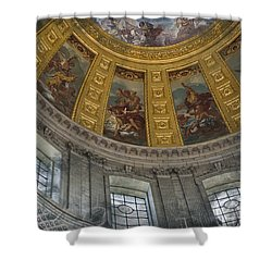 Eglise Du Dome Shower Curtain by Evie Carrier
