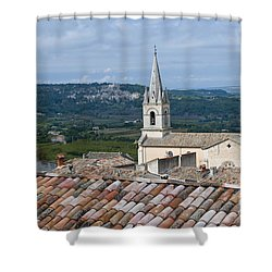 Eglise Haute Shower Curtain by Bob Phillips