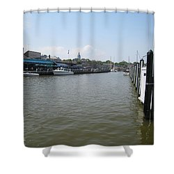 Ego Alley Shower Curtain