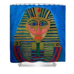 Egypt Ancient  Shower Curtain by Colette V Hera  Guggenheim