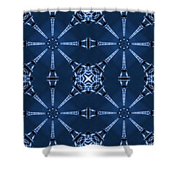 Eiffel Art 18 Shower Curtain