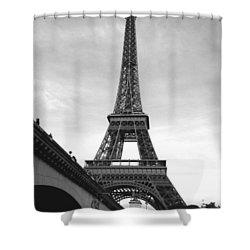 Eiffel Classic Shower Curtain