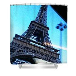 Eiffel In Motion Shower Curtain