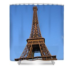 Eiffel Tower 2005 Ville Candidate Shower Curtain by HEVi FineArt