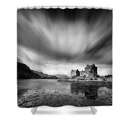 Eilean Donan Castle 1 Shower Curtain by Dave Bowman