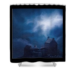 Eilean Donan Castle Shower Curtain by James Christopher Hill