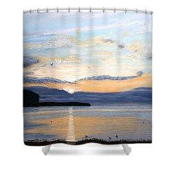 Eileen's Sunset Shower Curtain