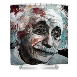 Einstein  Shower Curtain