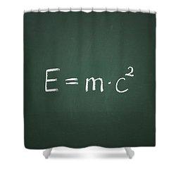 Einsteins Formula Shower Curtain