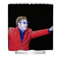 Ej Plays Soldout Concert Shower Curtain by Aaron Martens