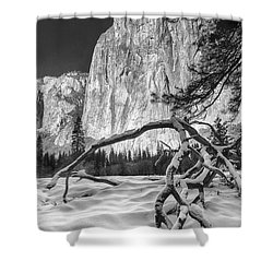 El Capitan I Shower Curtain