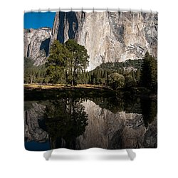 El Capitan In Yosemite 2 Shower Curtain
