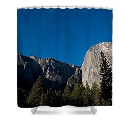 El Capitan, Yosemite Np Shower Curtain by Mark Newman