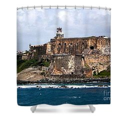 El Moro Shower Curtain