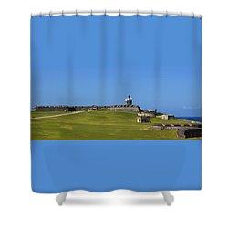 El Morro Panorama Shower Curtain
