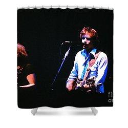 The Grateful Dead 1980 Capitol Theatre Shower Curtain by Susan Carella