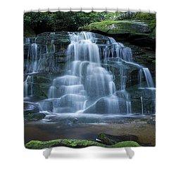 Elakala Falls Number 2 Shower Curtain by Shelly Gunderson