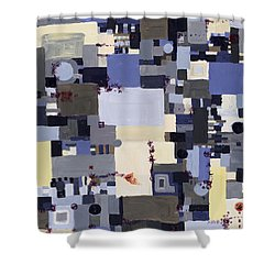 Elastic Dialog Shower Curtain