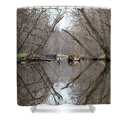 Eldon's Reflection Shower Curtain by Bruce Patrick Smith