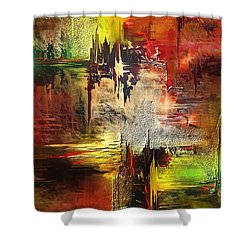 Electra Shower Curtain by Francoise Dugourd-Caput