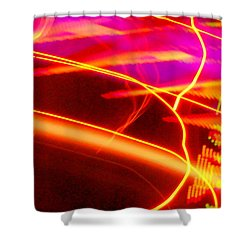Electra Ride Shower Curtain