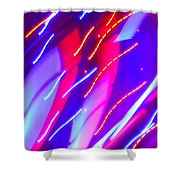 Electric Storm Shower Curtain