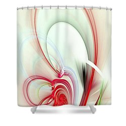 Elegance Shower Curtain by Anastasiya Malakhova