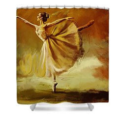 Elegance  Shower Curtain by Corporate Art Task Force