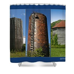 Elegy To Family Farms Shower Curtain