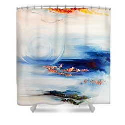 Elemental Shower Curtain