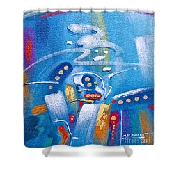 Elemental Fusion Shower Curtain